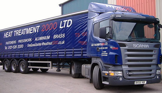 heat treatment lorry
